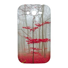Magic Forest In Red And White Samsung Galaxy Grand DUOS I9082 Hardshell Case