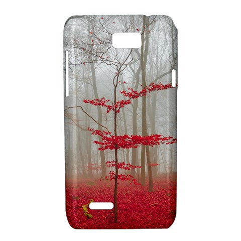 Magic Forest In Red And White Motorola XT788