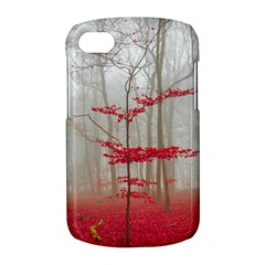Magic Forest In Red And White BlackBerry Q10