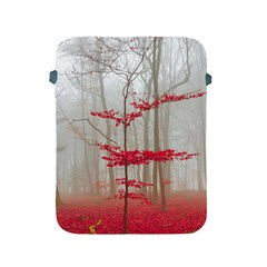 Magic Forest In Red And White Apple Ipad 2/3/4 Protective Soft Cases