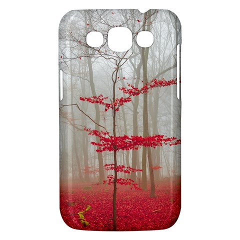 Magic Forest In Red And White Samsung Galaxy Win I8550 Hardshell Case