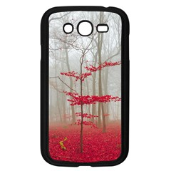 Magic Forest In Red And White Samsung Galaxy Grand Duos I9082 Case (black)