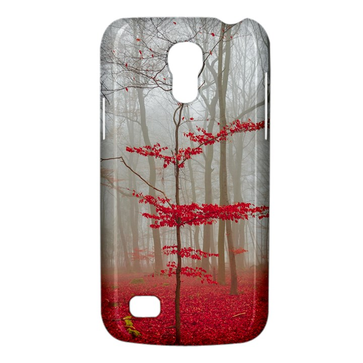 Magic Forest In Red And White Galaxy S4 Mini