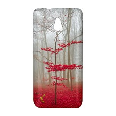 Magic Forest In Red And White HTC One Mini (601e) M4 Hardshell Case
