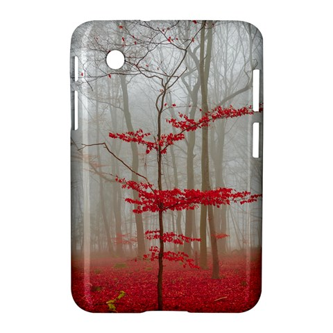Magic Forest In Red And White Samsung Galaxy Tab 2 (7 ) P3100 Hardshell Case