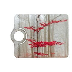 Magic Forest In Red And White Kindle Fire HD (2013) Flip 360 Case