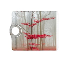 Magic Forest In Red And White Kindle Fire HDX 8.9  Flip 360 Case