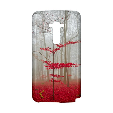 Magic Forest In Red And White LG G Flex
