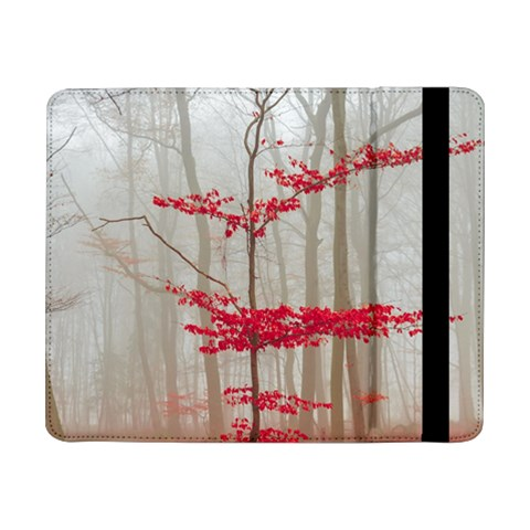 Magic Forest In Red And White Samsung Galaxy Tab Pro 8.4  Flip Case