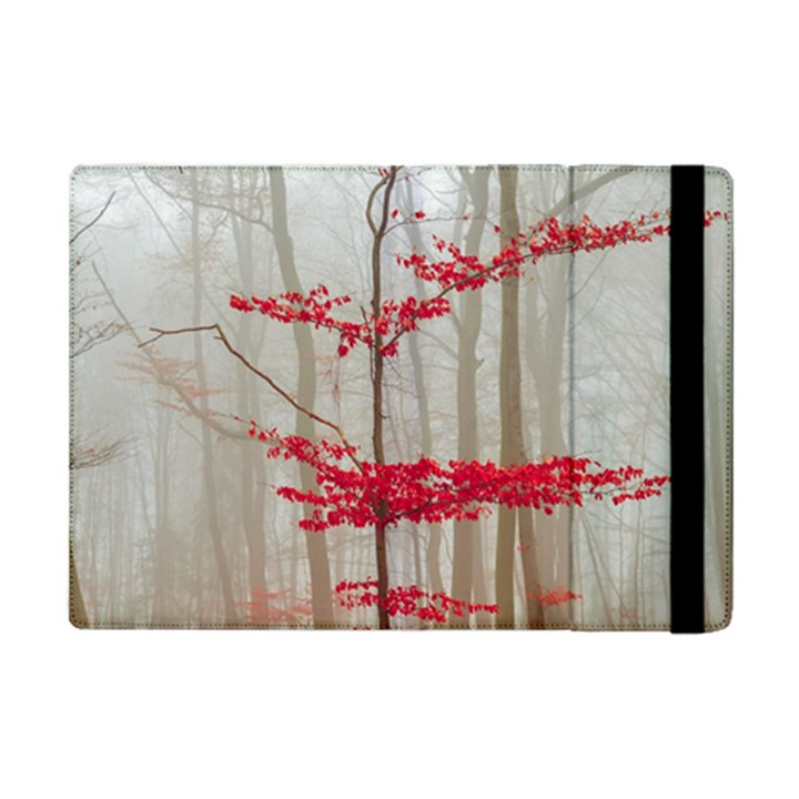 Magic Forest In Red And White iPad Mini 2 Flip Cases