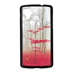 Magic Forest In Red And White Nexus 5 Case (Black) Front