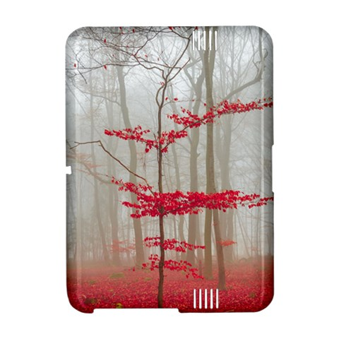 Magic Forest In Red And White Amazon Kindle Fire (2012) Hardshell Case