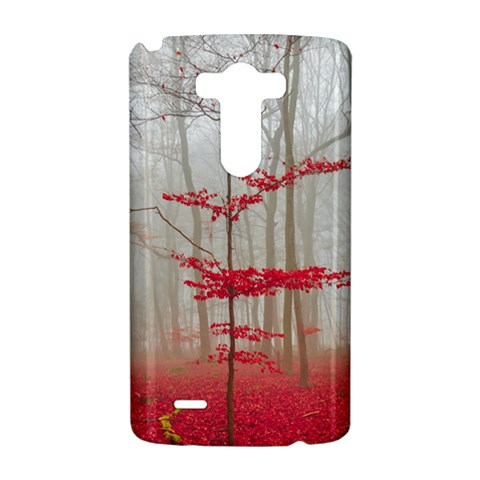 Magic Forest In Red And White LG G3 Hardshell Case