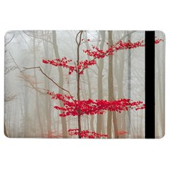 Magic Forest In Red And White Ipad Air 2 Flip