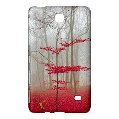 Magic Forest In Red And White Samsung Galaxy Tab 4 (7 ) Hardshell Case