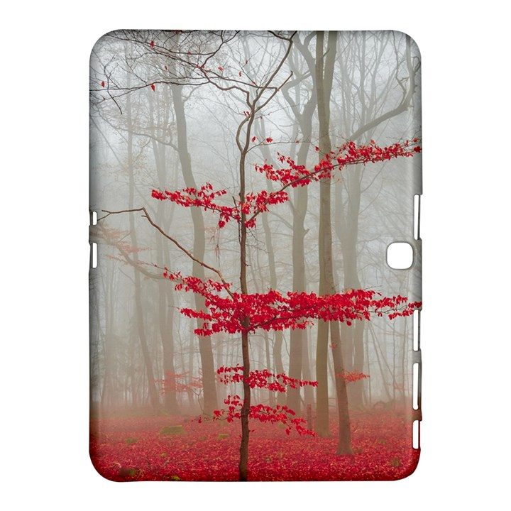Magic Forest In Red And White Samsung Galaxy Tab 4 (10.1 ) Hardshell Case