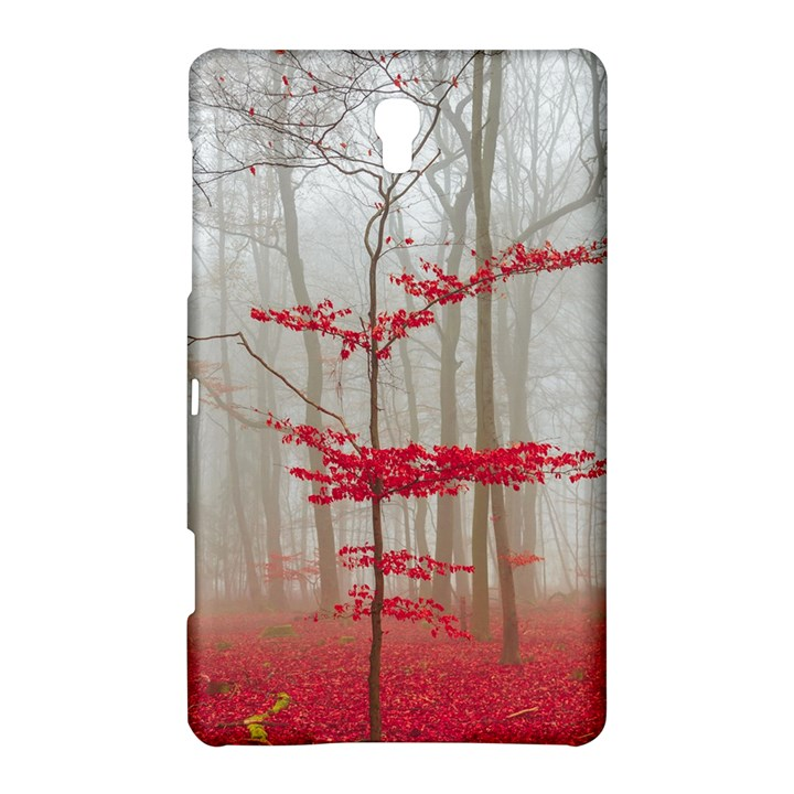 Magic Forest In Red And White Samsung Galaxy Tab S (8.4 ) Hardshell Case