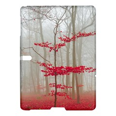 Magic Forest In Red And White Samsung Galaxy Tab S (10.5 ) Hardshell Case