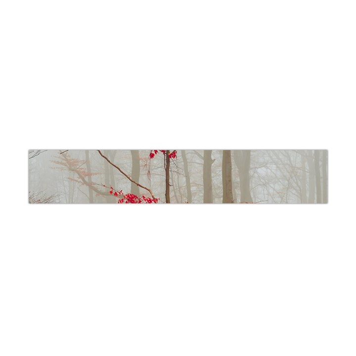 Magic Forest In Red And White Flano Scarf (Mini)