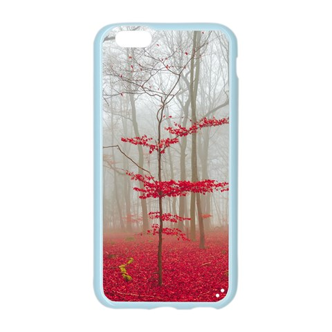 Magic Forest In Red And White Apple Seamless iPhone 6/6S Case (Color)