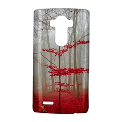 Magic Forest In Red And White Lg G4 Hardshell Case