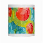 Red Cherries White Mugs Center