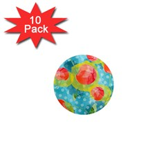 Red Cherries 1  Mini Magnet (10 pack)