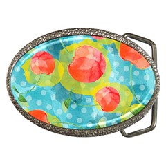 Red Cherries Belt Buckles