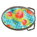 Red Cherries Belt Buckles Front