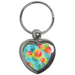 Red Cherries Key Chains (Heart)  Front