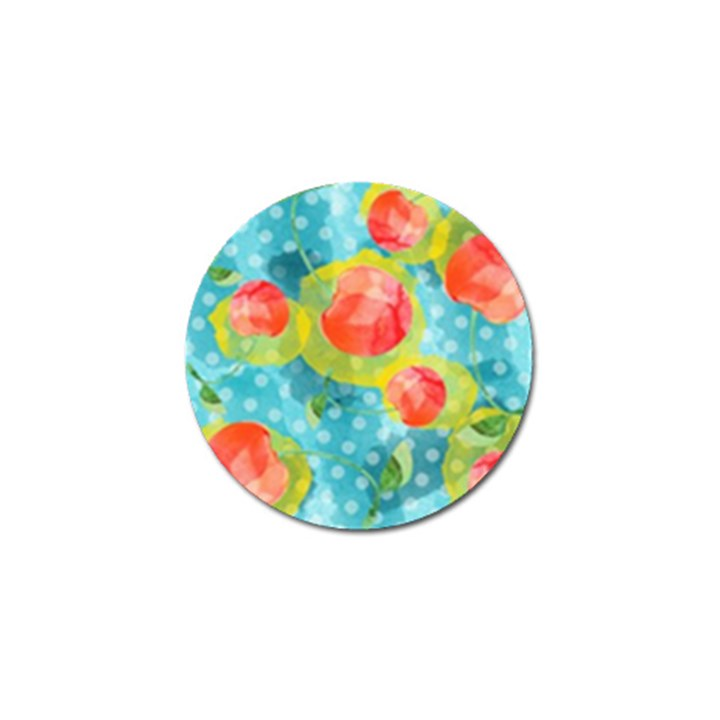 Red Cherries Golf Ball Marker