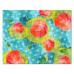 Red Cherries Rectangular Jigsaw Puzzl