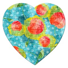 Red Cherries Jigsaw Puzzle (Heart)