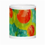 Red Cherries Night Luminous Mugs Center