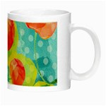 Red Cherries Night Luminous Mugs Right
