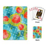 Red Cherries Playing Card Back