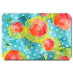 Red Cherries Large Doormat  30 x20 Door Mat - 1