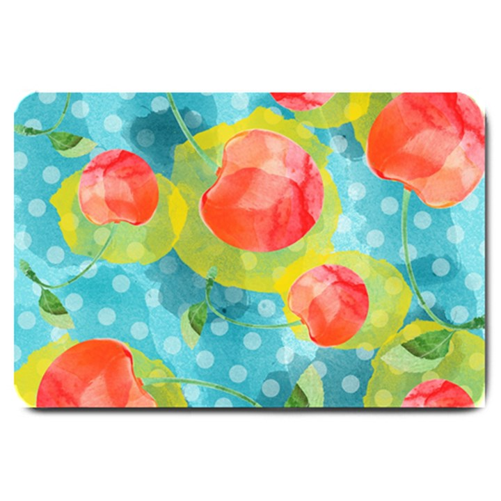 Red Cherries Large Doormat