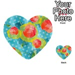Red Cherries Multi-purpose Cards (Heart)  Front 47