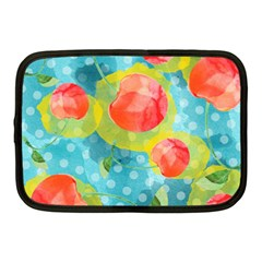 Red Cherries Netbook Case (Medium)