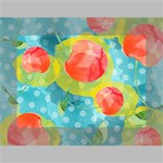 Red Cherries Mini Canvas 7  x 5  7  x 5  x 0.875  Stretched Canvas