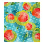 Red Cherries Shower Curtain 66  x 72  (Large)  58.75 x64.8 Curtain