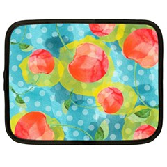 Red Cherries Netbook Case (XXL)