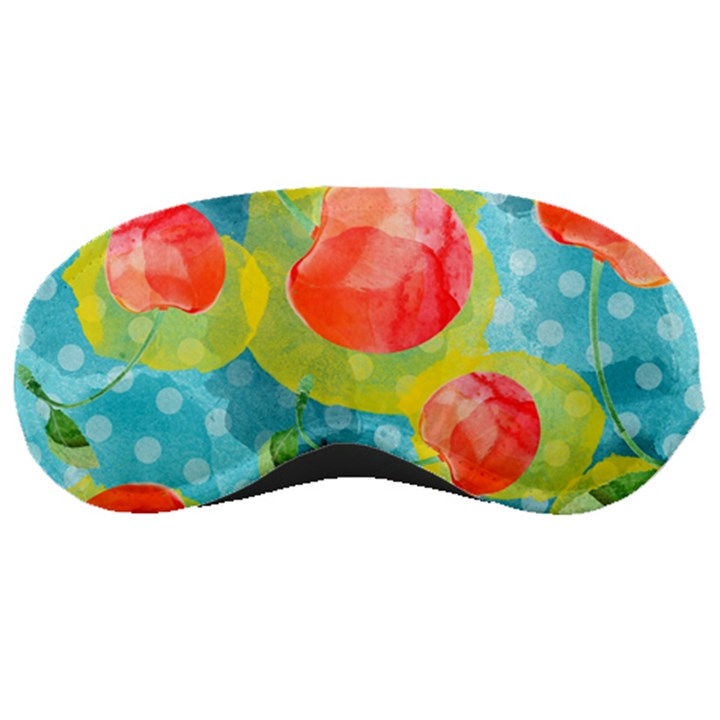 Red Cherries Sleeping Masks