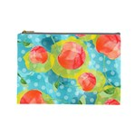 Red Cherries Cosmetic Bag (Large)  Front