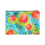 Red Cherries Cosmetic Bag (Large)  Back