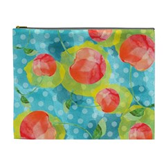 Red Cherries Cosmetic Bag (XL)