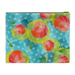 Red Cherries Cosmetic Bag (XL) Back