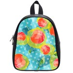 Red Cherries School Bags (Small)  Front