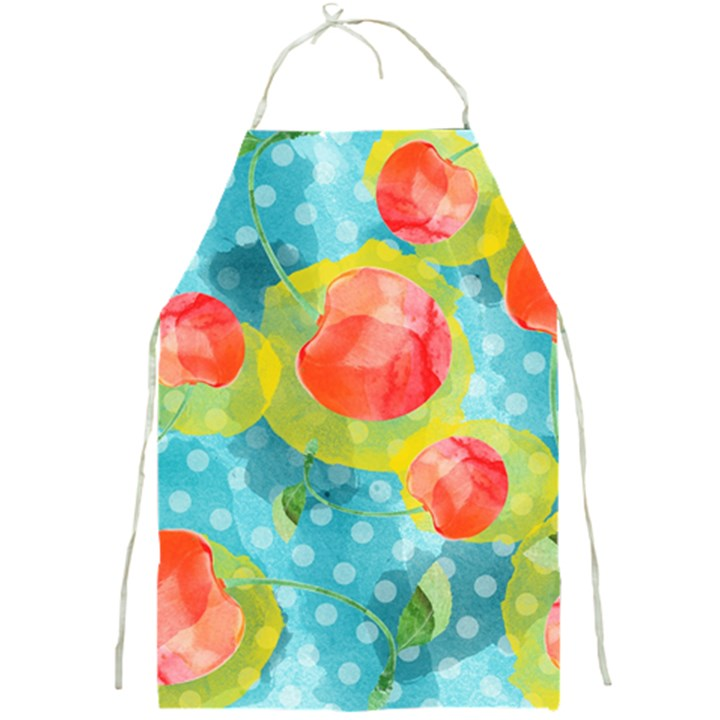Red Cherries Full Print Aprons
